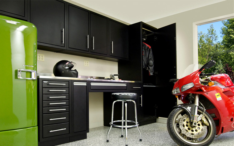 Garage cabinetry